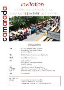 9c470ebfcd3 Programme et informations pratiques - Camarada